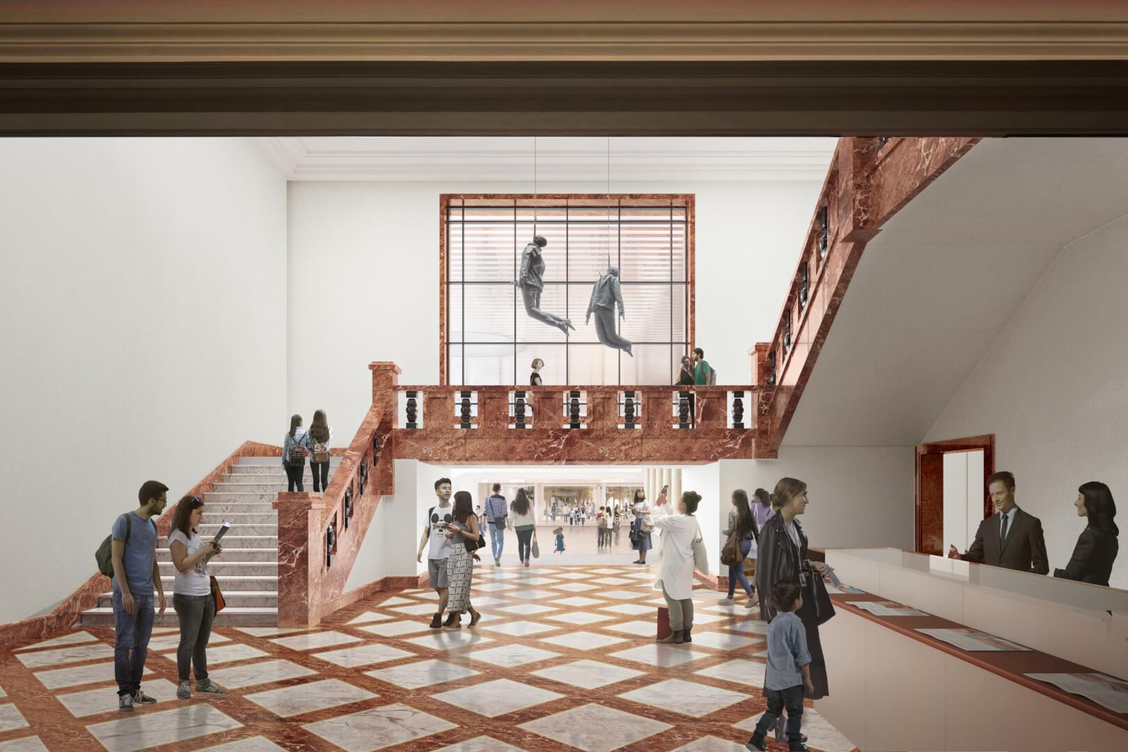 Si todo avanza según lo previsto, el nuevo Bellas Artes será una realidad en 2023, tras 16 meses de obras.