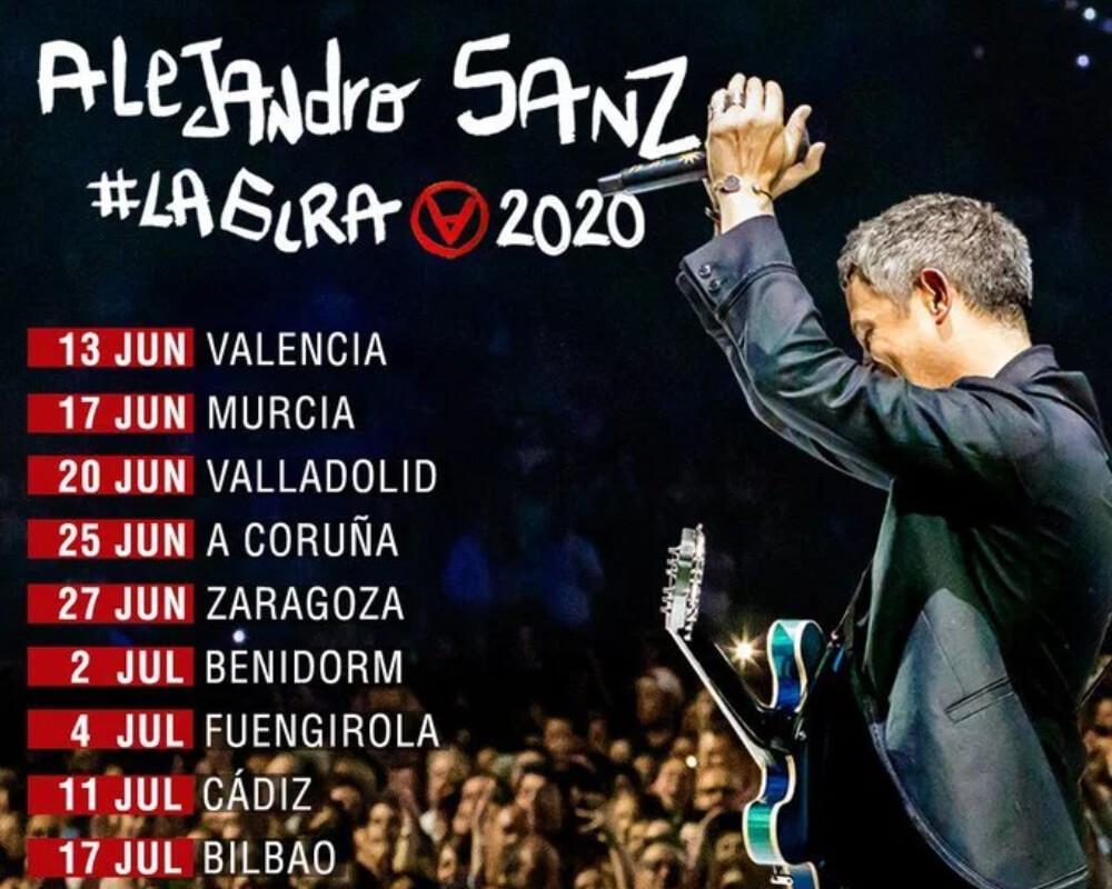 Alejandro Sanz #ElTour 2020
