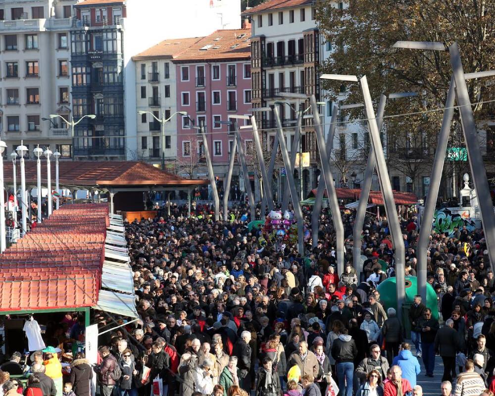 Feria Santo Tomás Bilbao