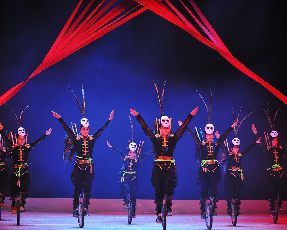 Gran Circo Acrobático de China llega a Bilbao