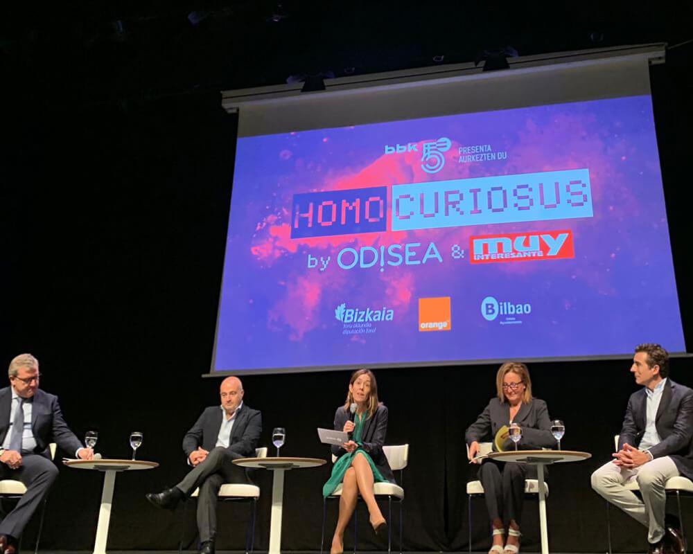 Evento Homo Curiosus dn el Palacio Euskalduna