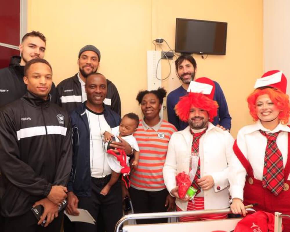 Visita al Hospital de Basurto en 2018