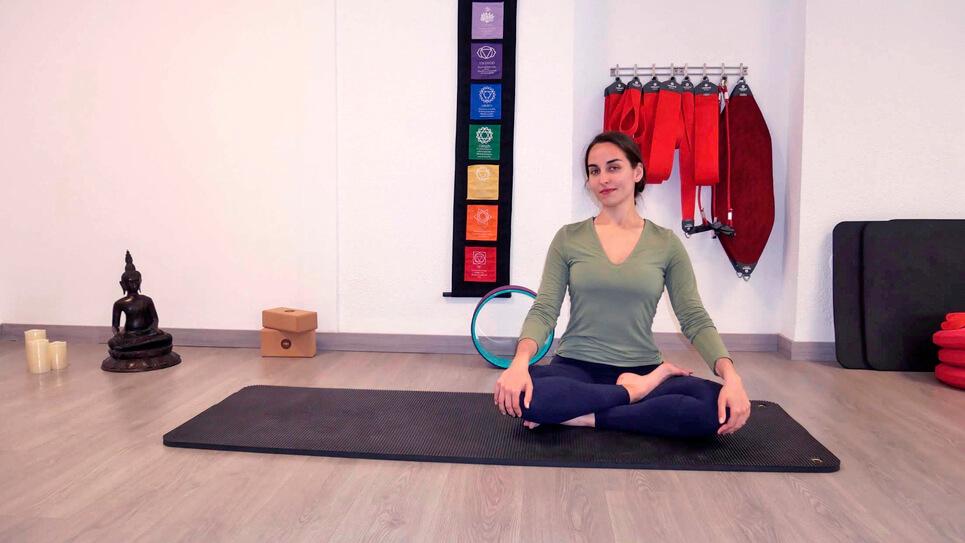 Yoga. En Clases grupales de hasta un máximo de 6 personas