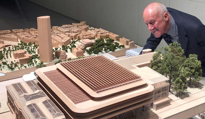 Norman Foster presenta el proyecto de ampliación del Museo de Bellas Artes de Bilbao