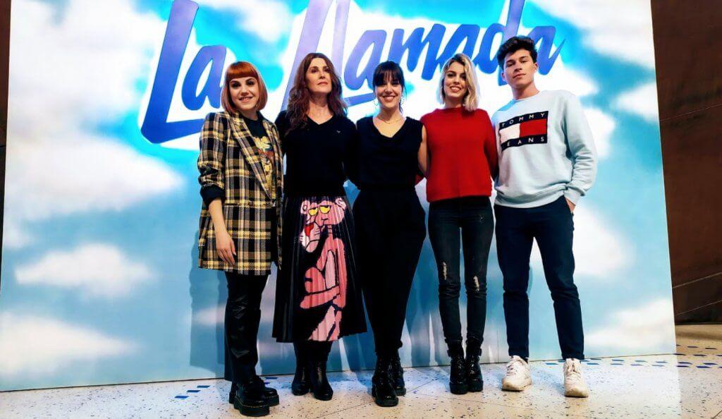 """Entrevista al elenco de """"La Llamada"""""""