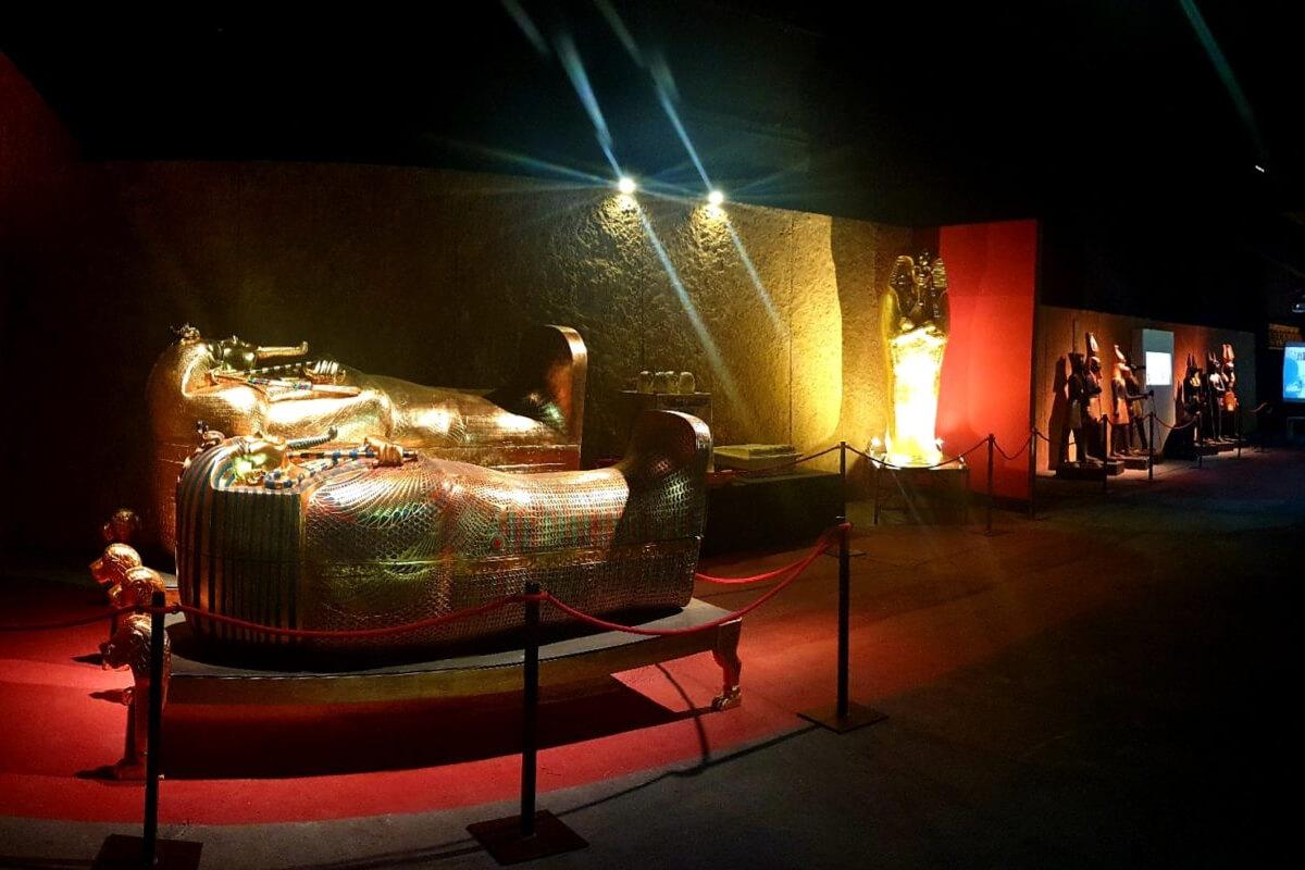 Egipto, La exposición en el Deusto Expo Center