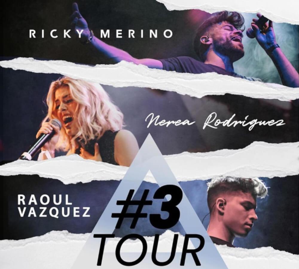 #3Tour junto con Ricky Merino