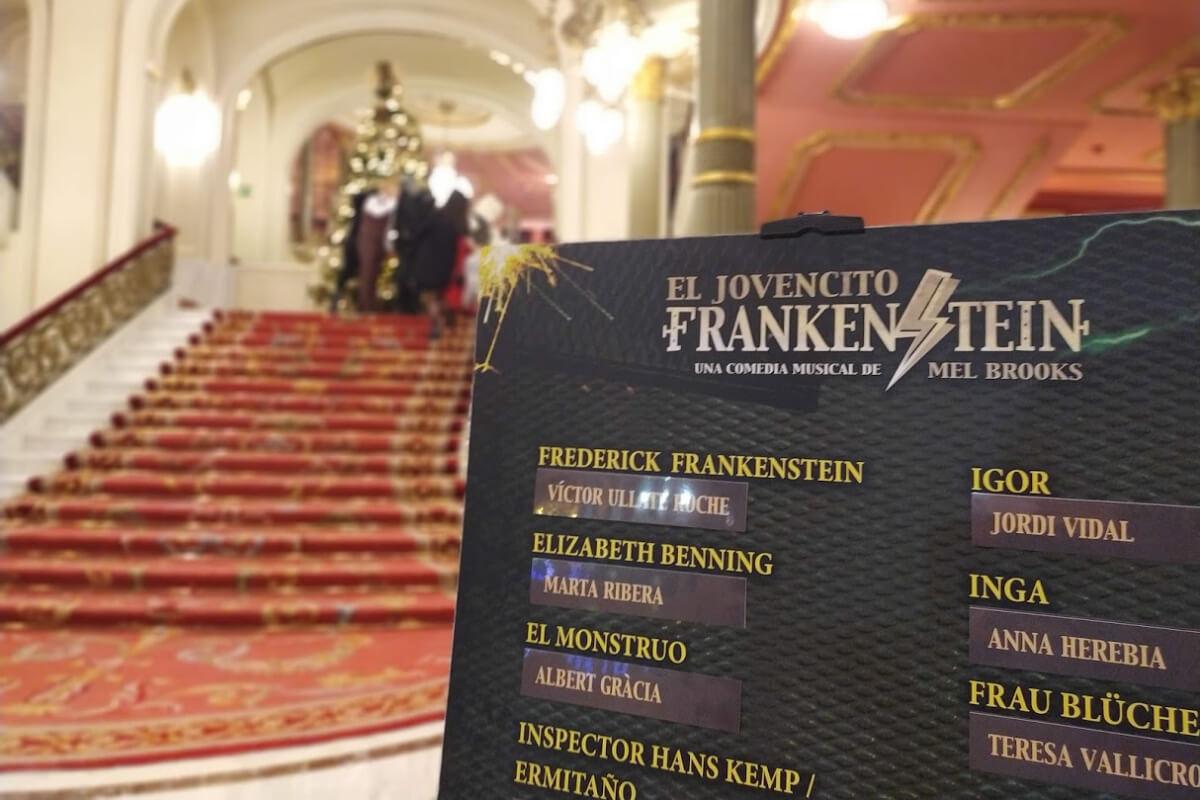 Elenco del musical El Jovencito Frankenstein