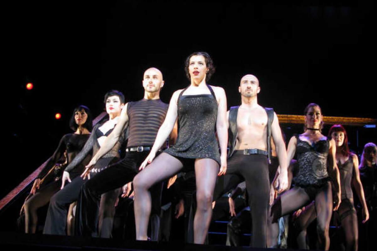 Marta Ribera en el musical Chicago