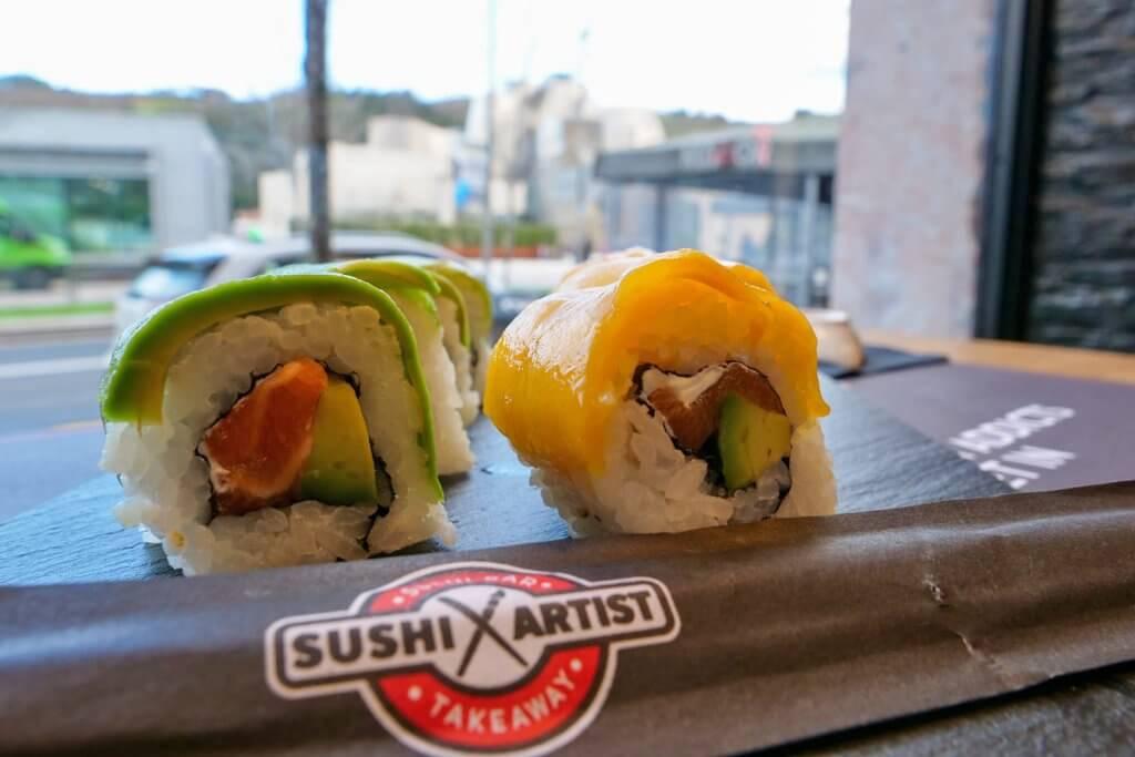 Es el séptimo Sushi Artist en Bilbao, concretamente en el número 65 de la calle Alameda Mazarredo.