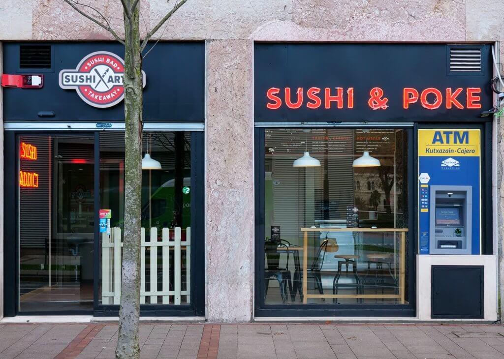 Sushi Artist frente al Guggenheim de Bilbao