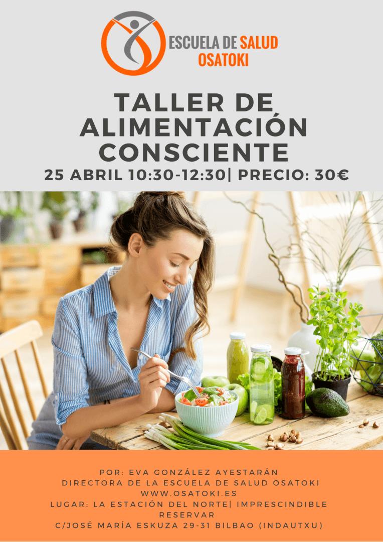 Alimentación consciente, en Osatoki, Bilbao