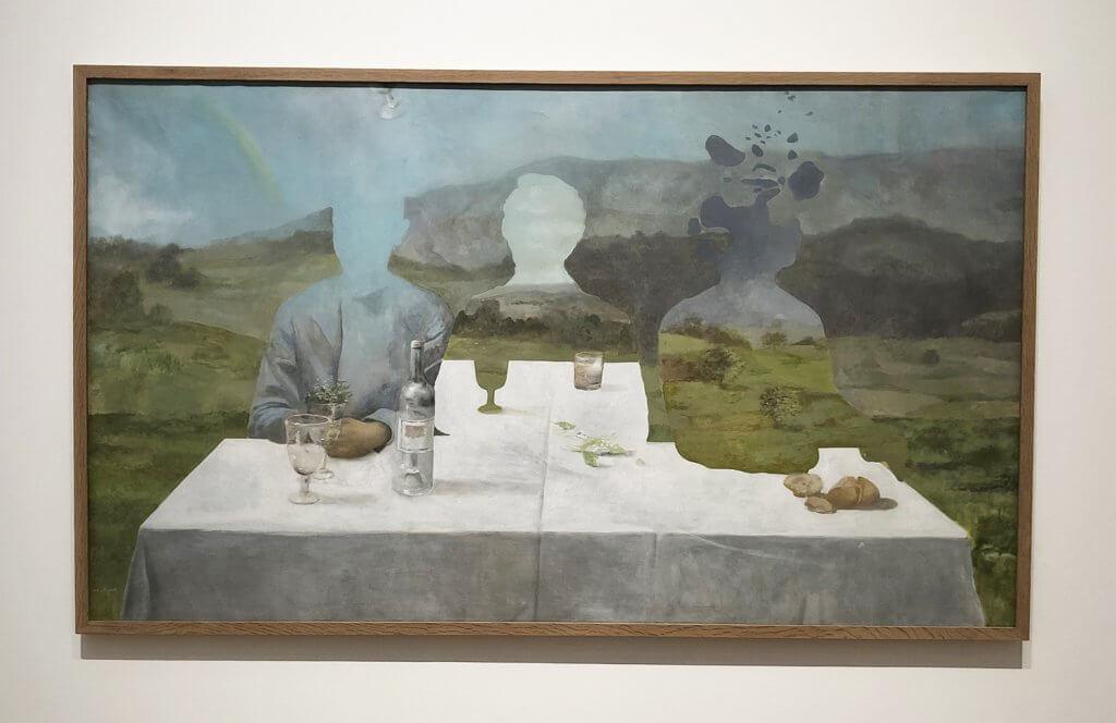 Vicente Ameztoy en el Museo de Bellas Artes de Bilbao (Foto: Very Bilbao)