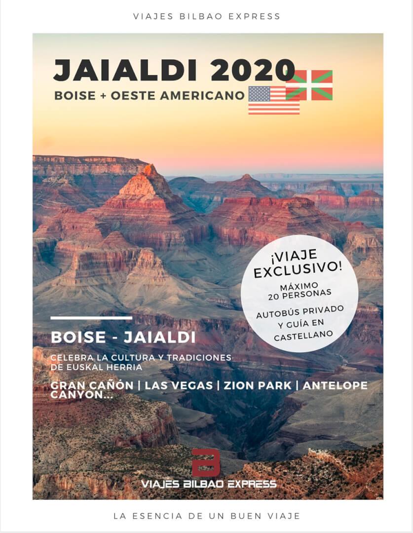 JAIALDI 2020 - Boise + Oeste ameriacano
