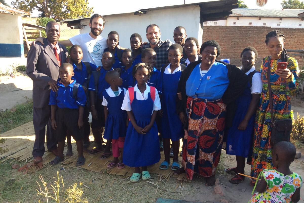 Asociación Luenalde: escolarización a niños y niñas