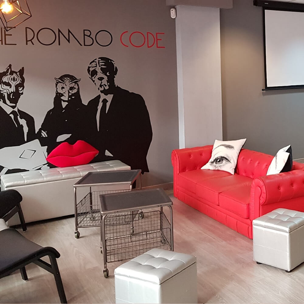 The Rombo Code - Best Escape Room in Bilbao - The Rombo Code Escape Room Bilbao