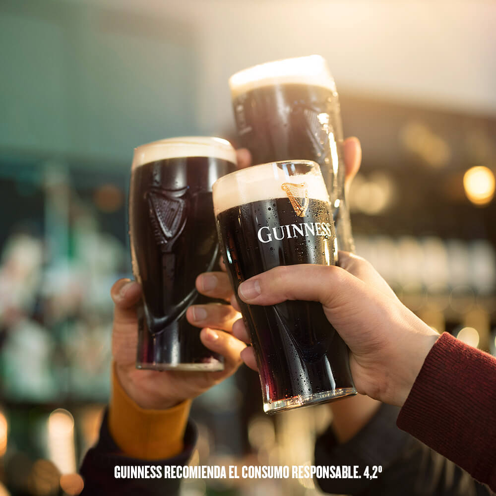 Celebra St. Patrick's Day con Guinness