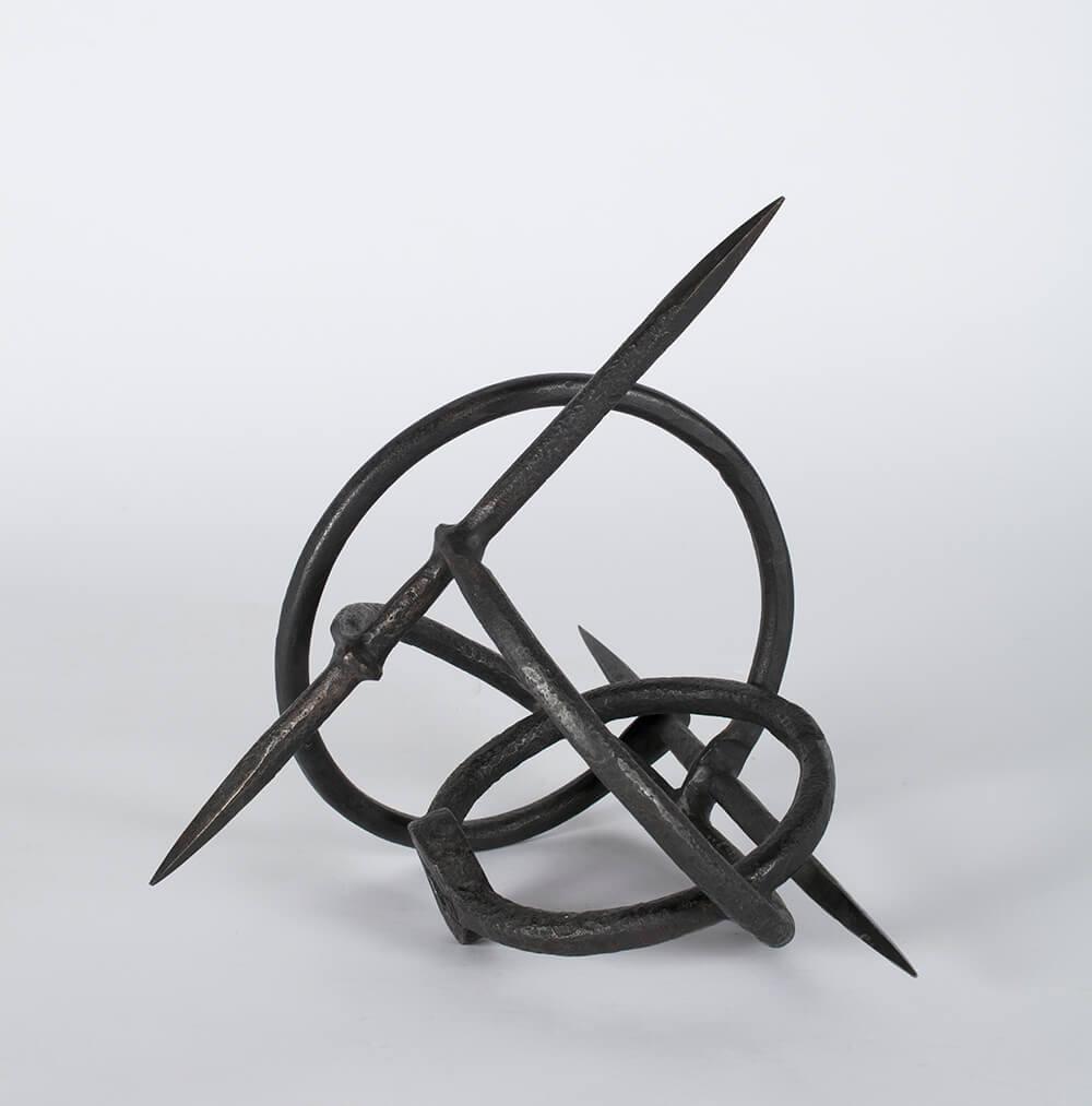 Eduardo Chillida (Donostia/ San Sebastián, 1924-2002) Música de las esferas II, 1963 Hierro Museo Universidad de Navarra