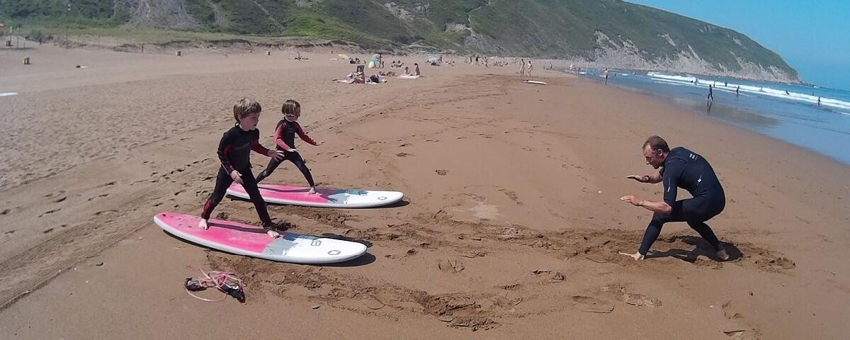 Surf en Getxo, Bizkaia