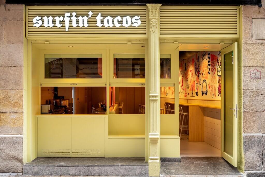 Surfin' Tacos - auténtica taquería mexicana en el Casco Viejo de Bilbao
