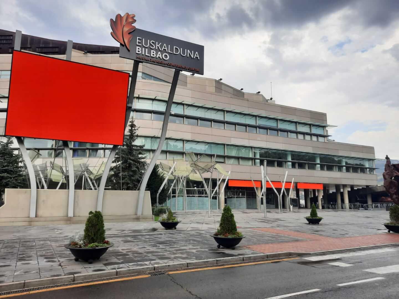 Palacio Euskalduna Bilbao #alertaroja