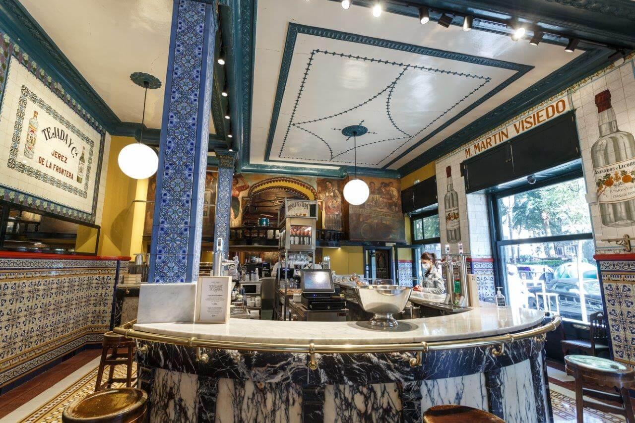 Café Iruña de Bilbao