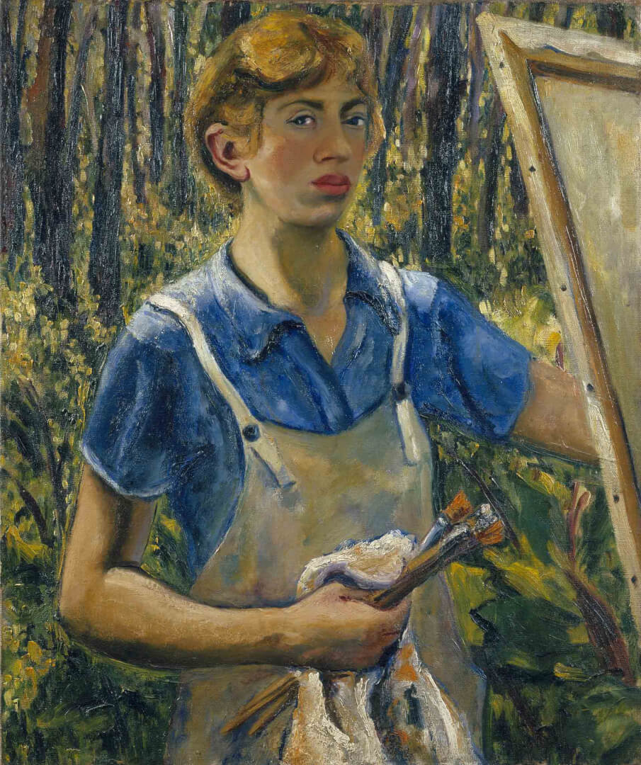 Lee Krasner Autorretrato (Self-Portrait), ca. 1928 © The Pollock-Krasner Foundation.