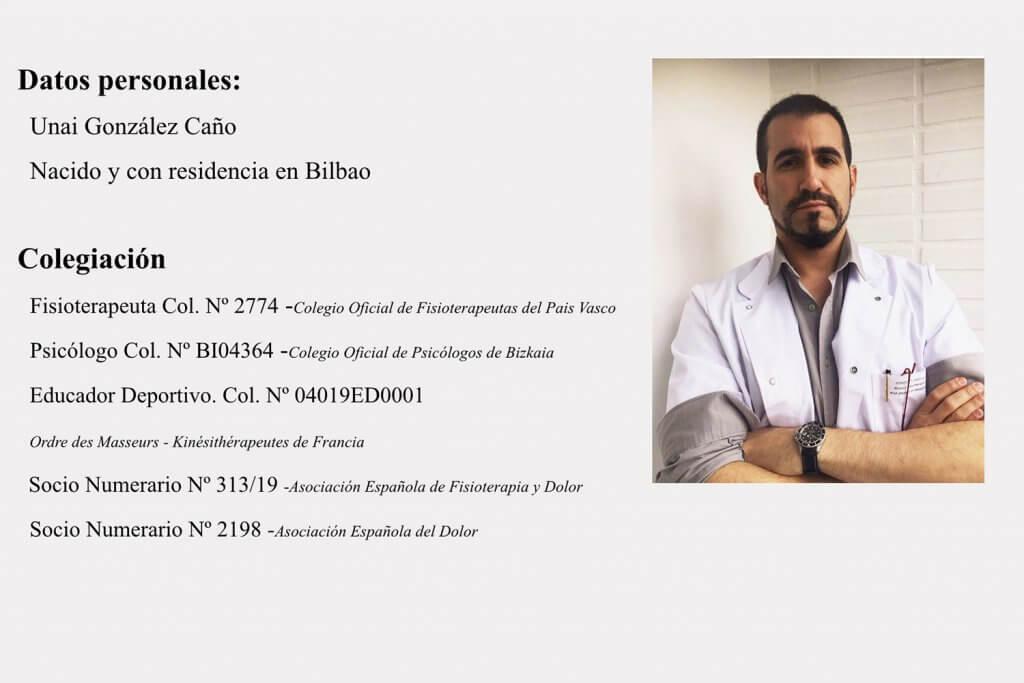 Salud Integral Bilbao - Fisioterapia, Osteopatía, Nutrición y Psicología - Unai Gonzalez Caño - Salud Integral Bilbao