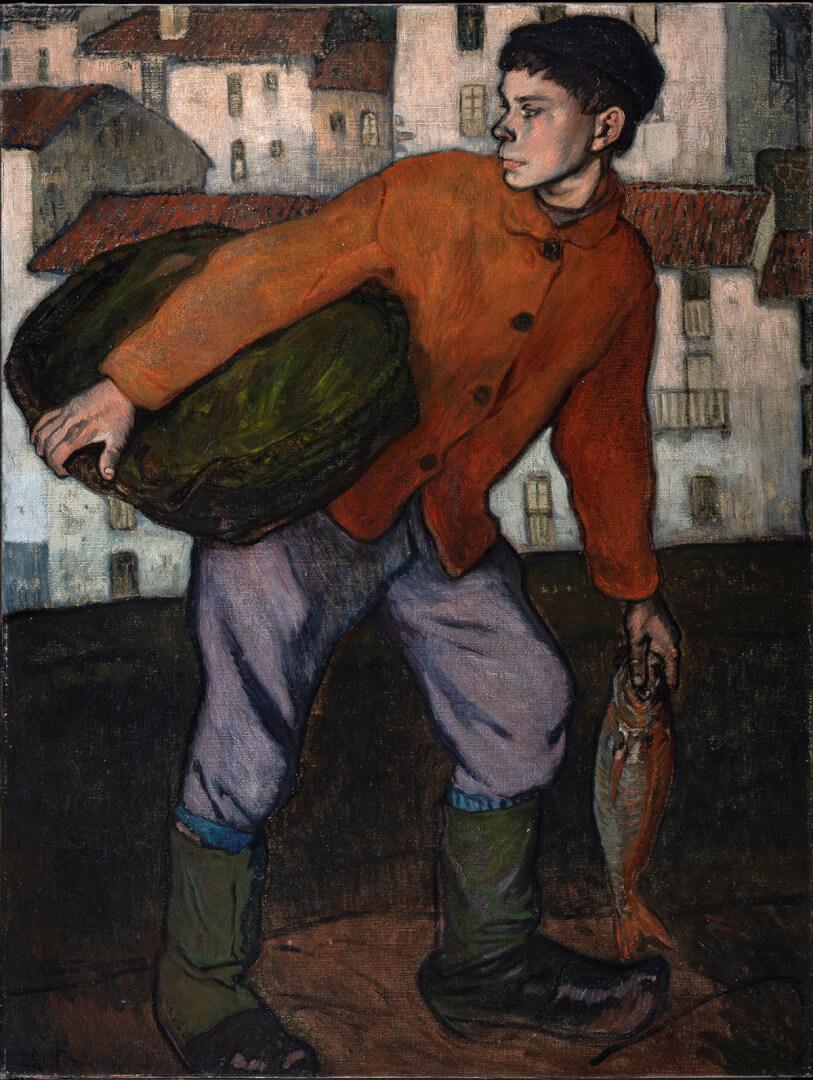 Aurelio Arteta (1879-1940). Txo (c. 1910). Colección particular