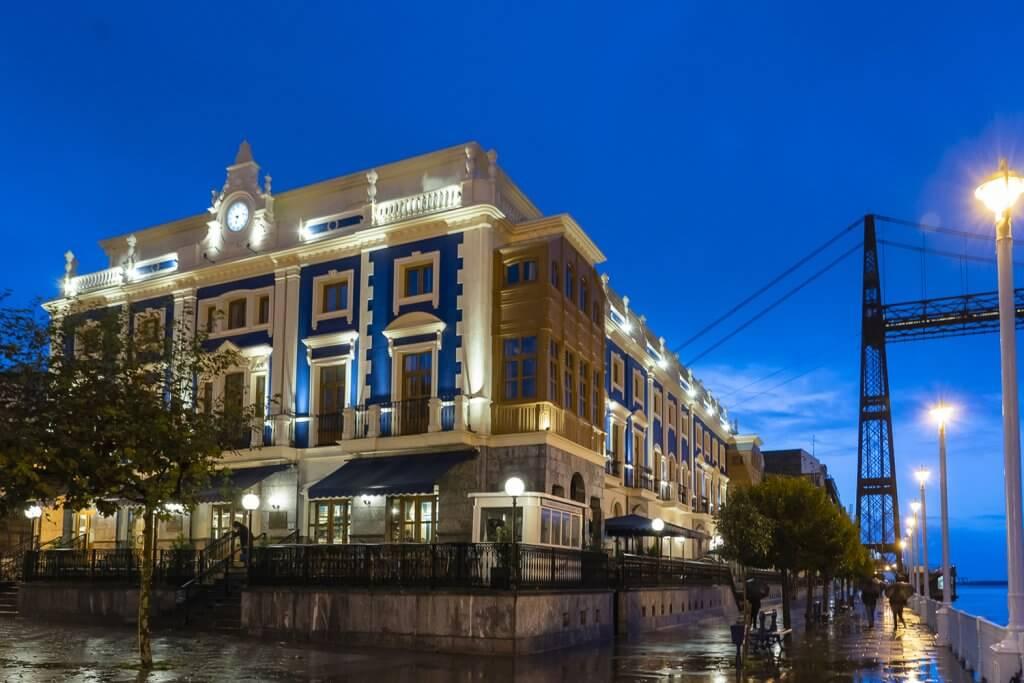 Puente Colgante Boutique Hotel, emblemático hotel de la Villa de Portugalete, Bizkaia. Bilbao - Puente Colgante Boutique Hotel