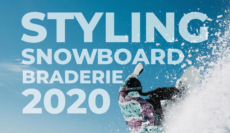 STYLING Snowboard Braderie 2020