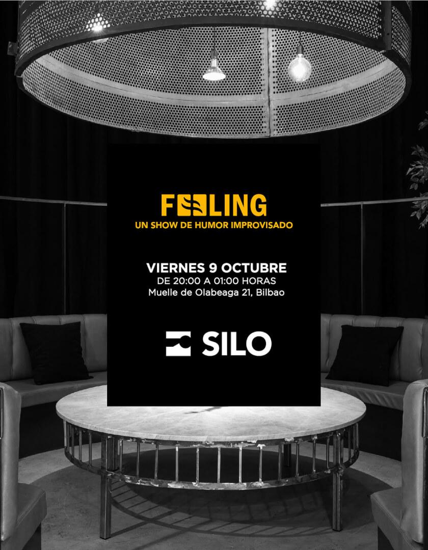 FEELING, en SILO Bilbao