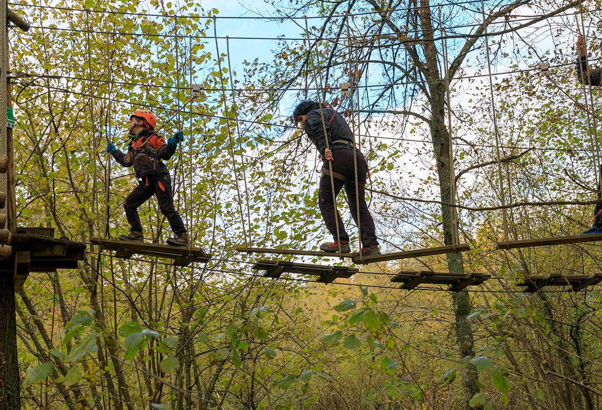 Parque de Aventuras Hontza Extrem