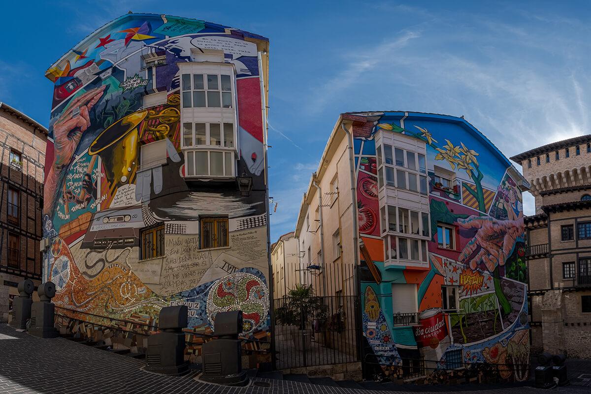 Ruta de los murales en Vitoria Gasteiz