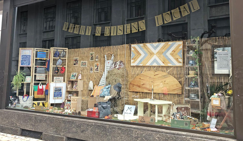 Yimby presenta un nuevo mega-escaparate de marcas en la Plaza Moyúa