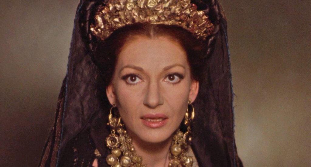 Meda, de Pier Paolo Pasolini. La única incursión en el cine de la gran diva de la ópera Maria Callas.