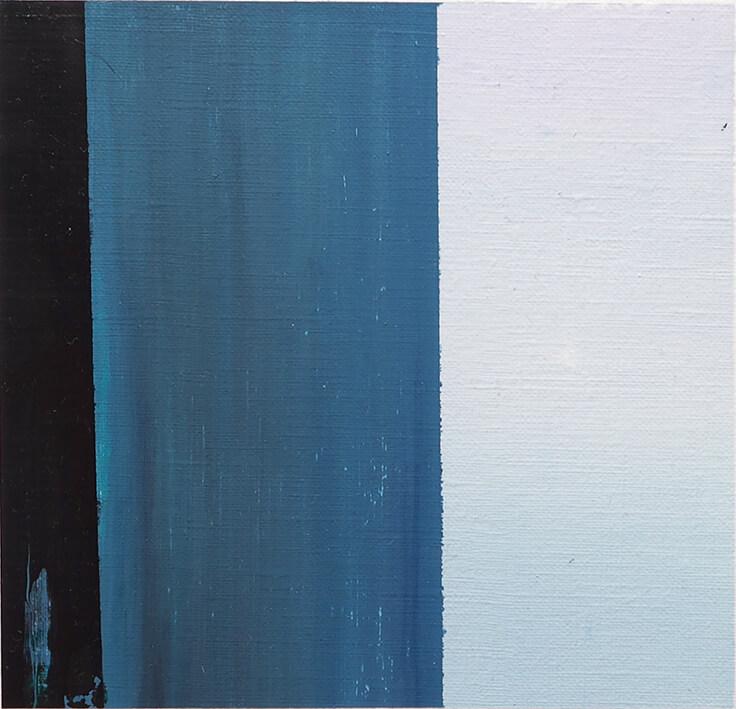 GABRIEL COCA. EP 8 (2020). Óleo sobre papel. 18 x 18 cm.