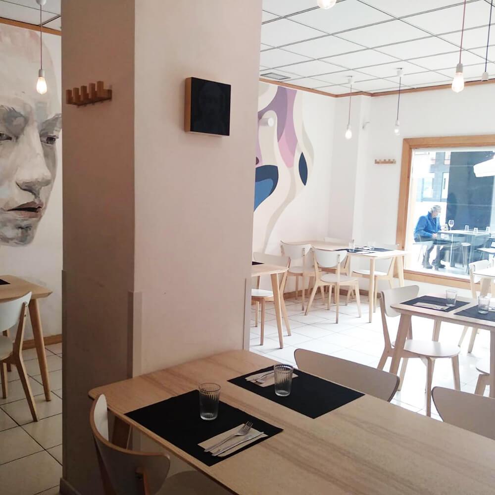 Kokken Restaurant in Bilbao offers simple yet sophisticated cuisine