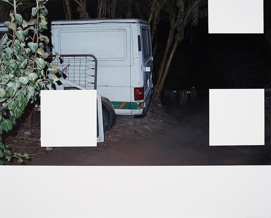 MIKEL DEL RÍO. SIN TÍTULO (2021). Óleo sobre tabla. 60 x 75 cm.