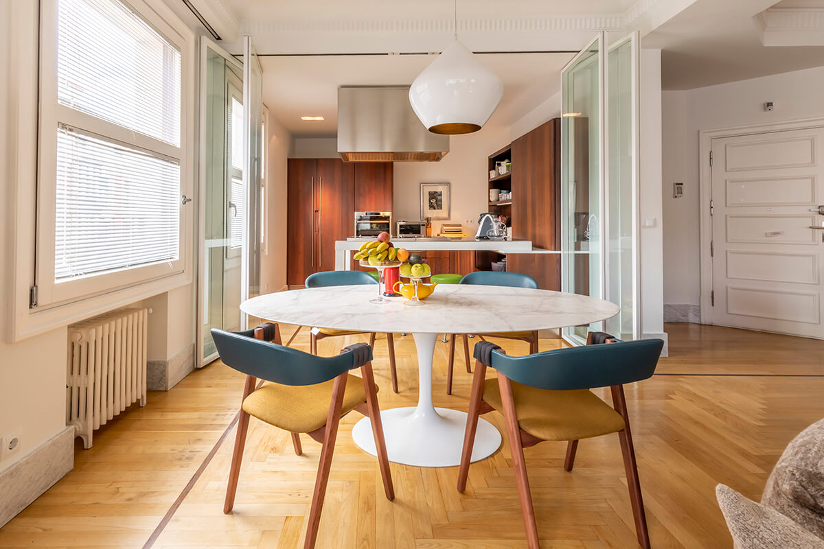 Reforma integral y decoración por Rosita en vivienda Bilbao