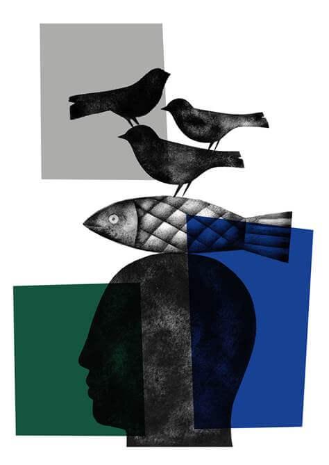 Jorge Gay. SERIGRAFÍA VII (2020). Impresión giclée sobre papel de algodón. 70 x 50 cm.