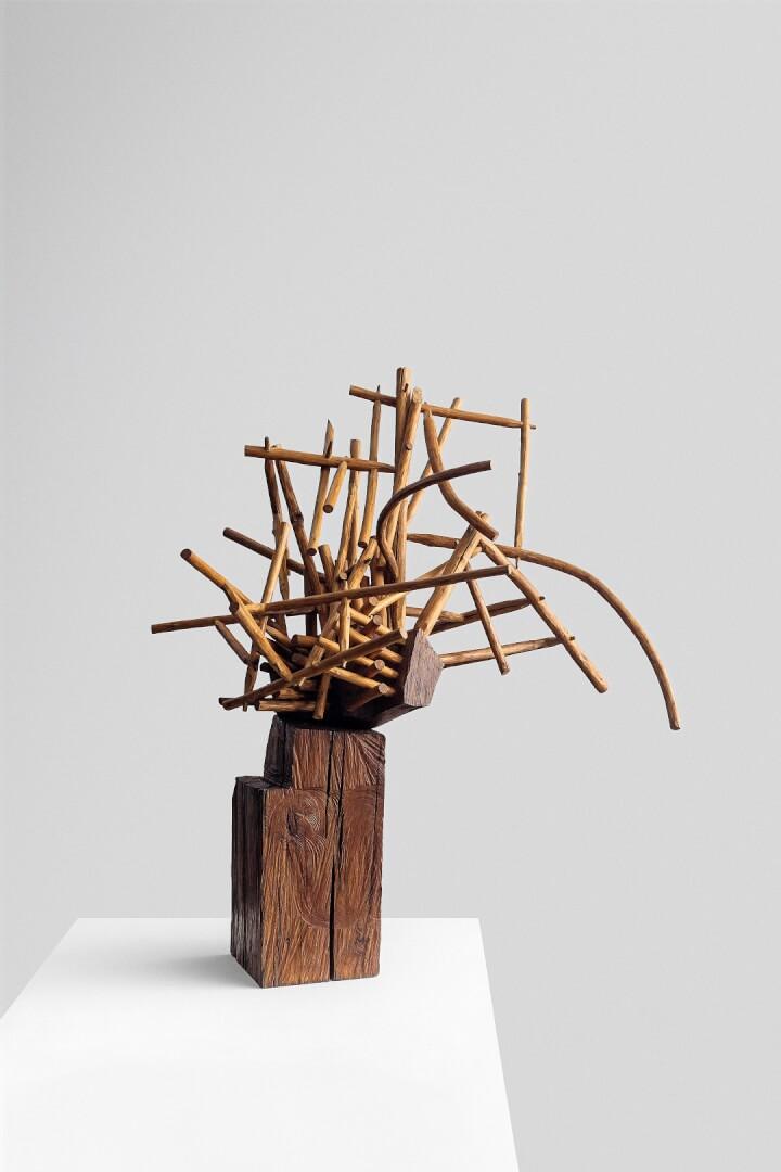 Mendiburu en el Museo de Bellas Artes de Bilbao