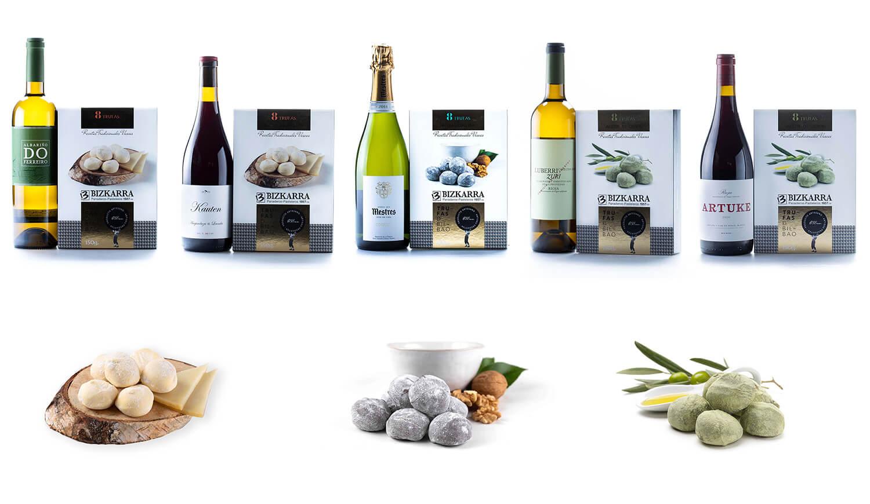 Bizkarra. Maridaje de trufas y vinos