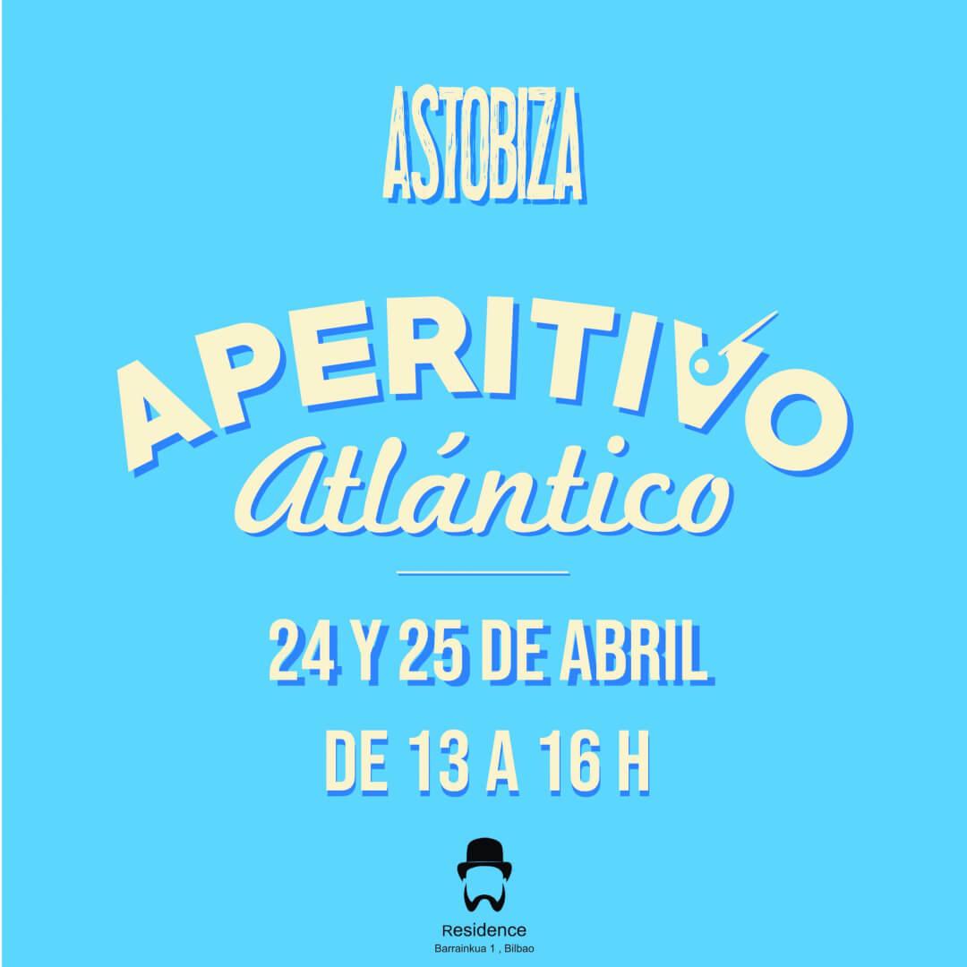 Aperitivo Atlantico en Residence Bilbao, de mano de Bodegas Astobiza
