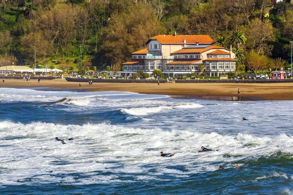 Ereaga Beach. Getxo. Bizkaia. Vizcaya. Basque Country. Pais Vasco. Euskadi. Spain