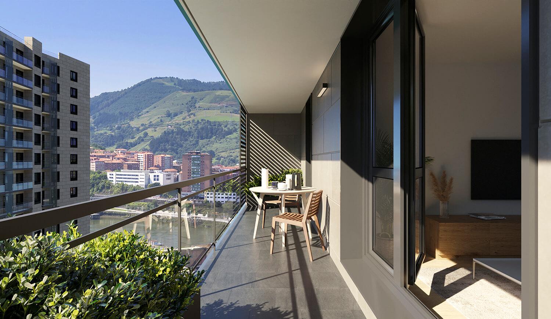 Punta Norte - Viviendas de JAureguizar en la Isla de Zorrozaurre, Bilbao