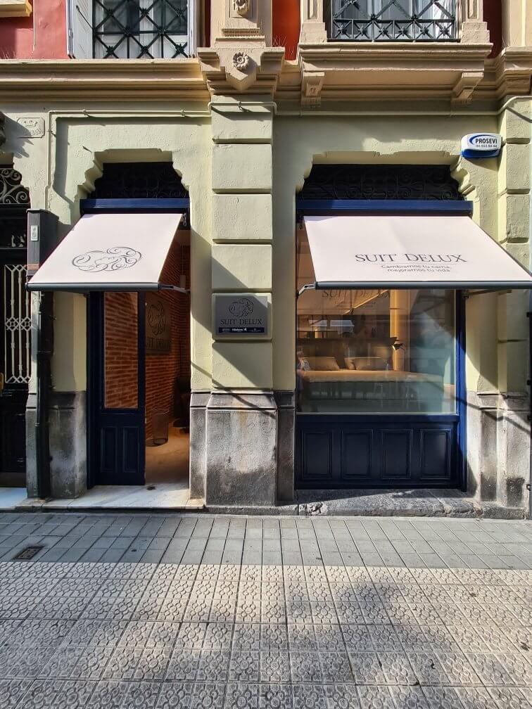 Tienda Suit Delux Bilbao.