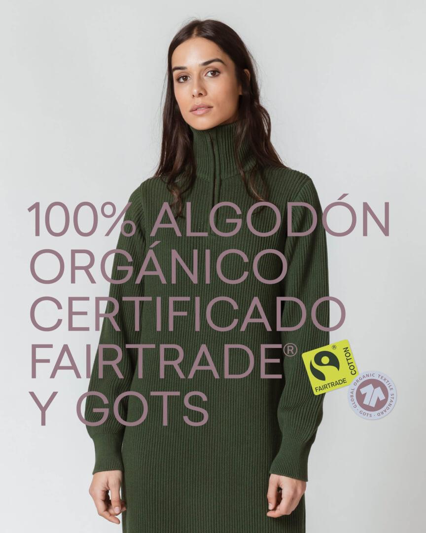S K F K (Victor 5, Casco Viejo de Bilbao) Vestido de punto 'GERGORE' 129€