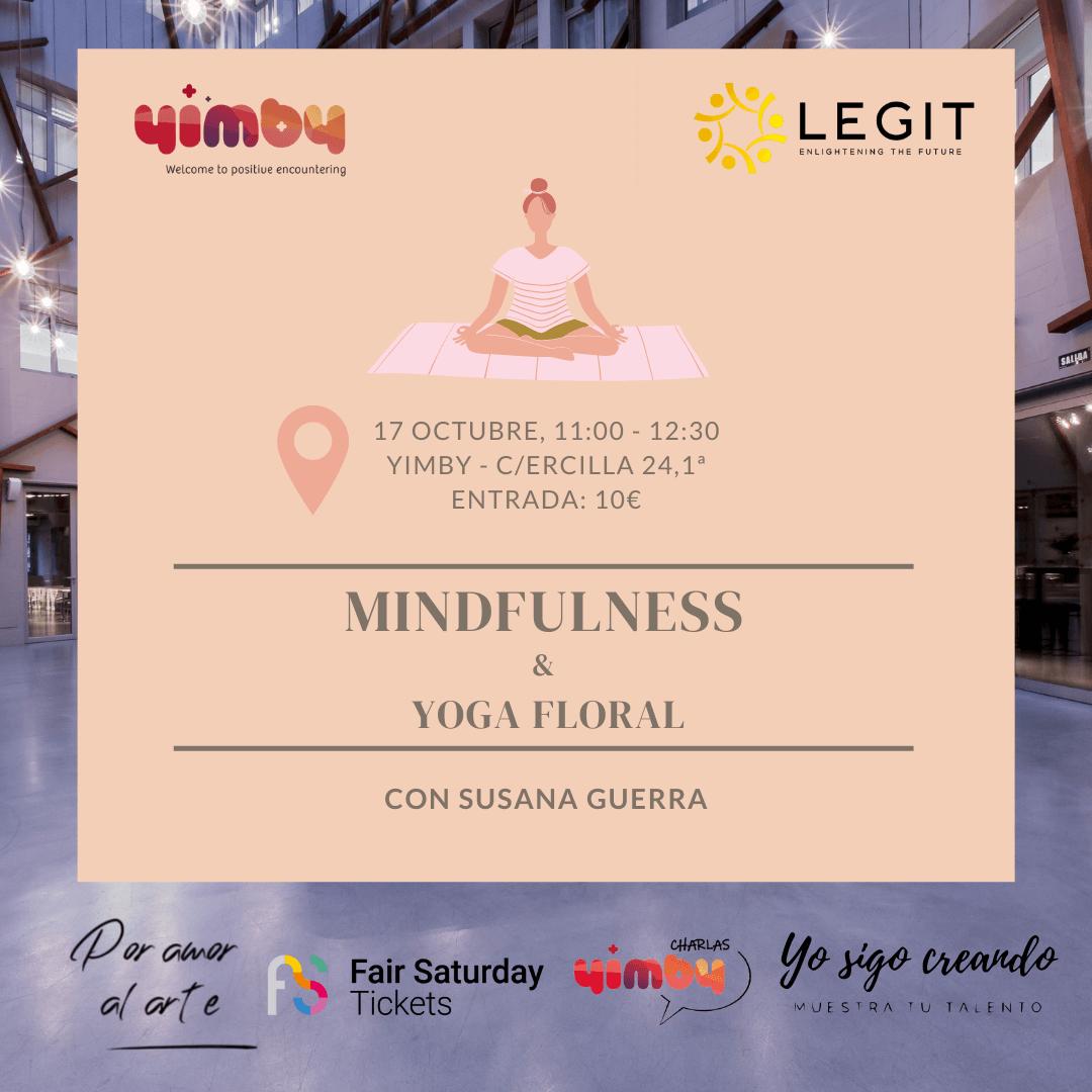 Mindfulness y Yoga Floral en Yimby Bilbao